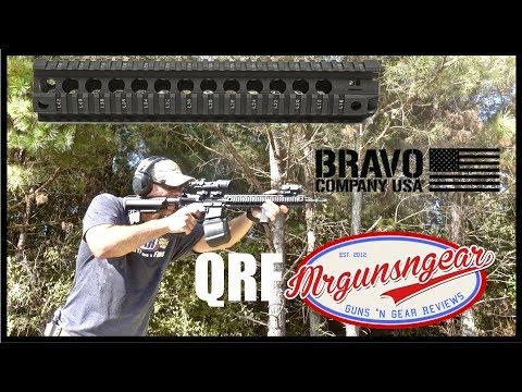 Bravo Company USA QRF Quad Rail Free Float Handguard Review