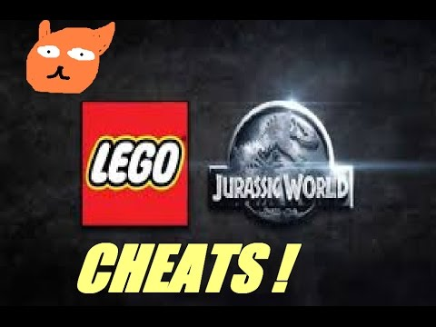LEGO Jurassic World CHEAT CODES ! - YouTube