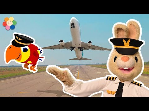 Speaking English Words - The Pilot | Harry & Larry Stories For Kids | Learning From Baby First TV