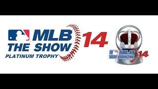 MLB 14: The Show Platinum Trophy