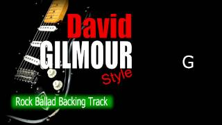 Rock Ballad David Gilmour Guitar Backing Track 67 Bpm Highest Quality