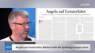 Ein Blick in die neue JF (27/18): Angela auf Geisterfahrt