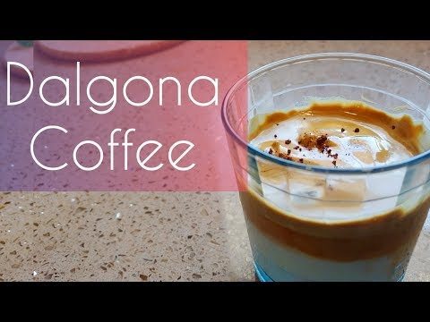 Dalgona Coffee without Mixer |  How to make Dalgona Coffee | Whipped coffee at home