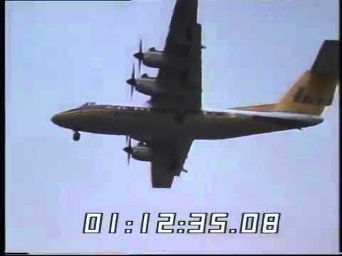 Aircraft Landing City Airport Thames News