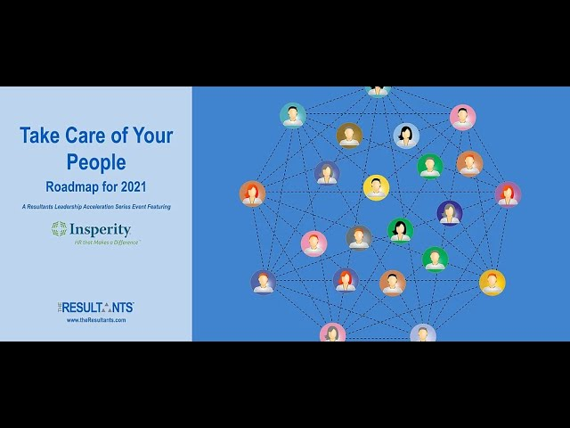 Take Care of Your People | Roadmap for 2021