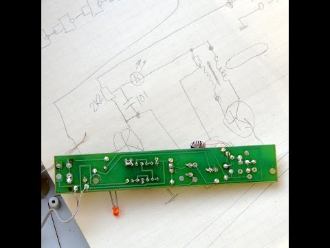 How to draw a electronic circuit with the PCB?