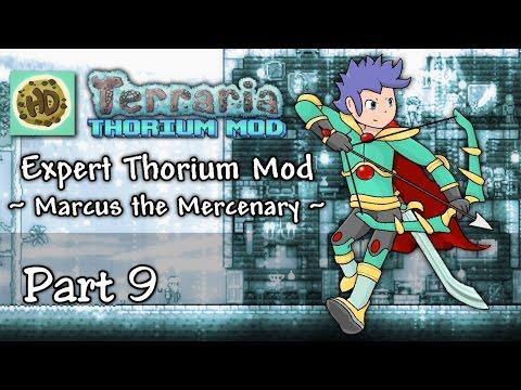 Terraria 1.3 Expert Thorium Mod Part 9 | New Fallen Beholder Boss & Flesh Armor! | 1.3 Let's Play