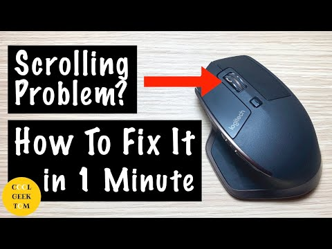 How To Fix Logitech Mouse Scrolling Problem In 1 MINUTE! MacOS Mojave Bug