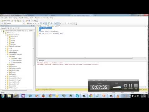 Sql server bangla tutorial 5 create alter drop table - Alter table sql server example ...