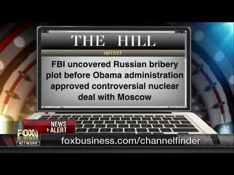 Evidence Russians bribed and extorted Hillary and Obama administration for Uranium deal