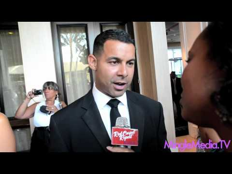 Jon Huertas @Jon_Huertas at the 27th Annual Imagen Awards Red Carpet Report Interview