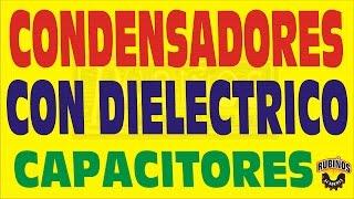 CONDENSADORES CON DIELECTRICO-CONSTANTE DIELECTRICA