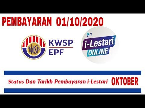 Pembayaran I Lestari Bulan Oktober 2020 Youtube