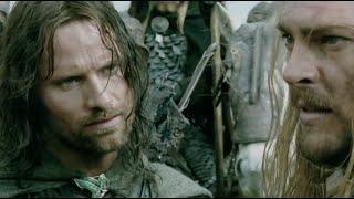 ✄ Властелин колец: Две крепости 2002 (Арагорн, Леголас и Гимли встречают Эомера)