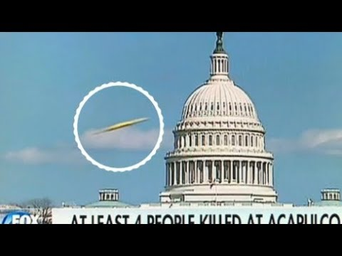 Fox News Catch a UFO Over the US Capital?