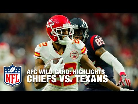 Chiefs vs. Texans | AFC Wild Card Highlights | NFL