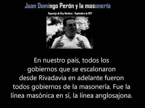 La verdad sobre las Independencias. Entrevista a Perón