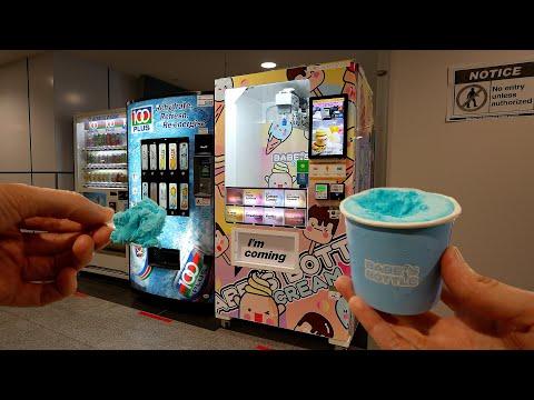 Ice Cream Vacuum Vending Machine