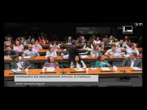 SEGURIDADE SOCIAL E FAMÍLIA - Audiência Pública - 31/05/2016 - 14:57