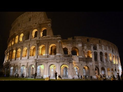 Fast Sketch In Colosseum Rome Italy Youtube