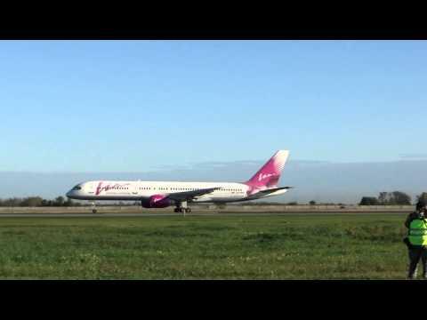 Boeing 757 230 RA 73012 VIM Airlines Takeoff RWY25 UNNT