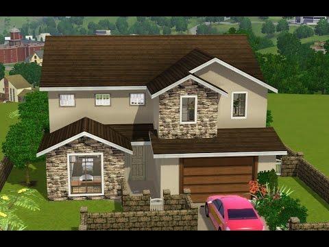 Sims 3 house building suburban vista my first house for Sims 3 family house ideas