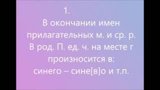 Орфоэпия русского языка