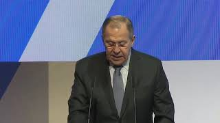С.Лавров на церемонии открытия Российско-Арабского Делового Совета и «Арабия-ЭКСПО»