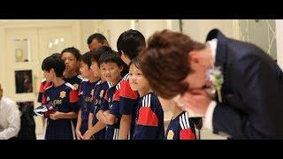【新郎 大号泣!!】教え子たちからの涙のサプライズ アーククラブ迎賓館 新潟 (T&G)