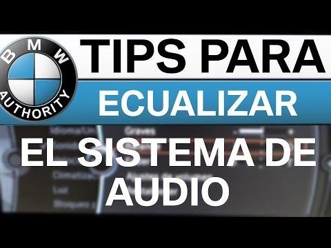 BMW - Tips para ECUALIZAR el Sistema de Audio