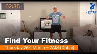 Find Your Fitness #1 - Thursday 26th March