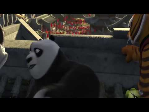 Kung-fu panda 2 comedy scene in hindi