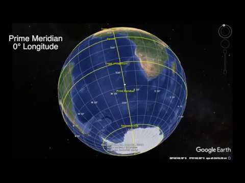 Absolute Location Using Google Earth