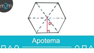 Teorema de pitágoras │ apotema │ problema 3