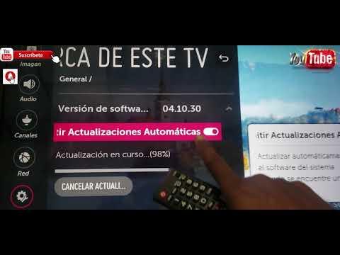 Como Actualizar Televisor LG Con Sistema WebOS