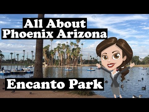 Encanto Park - Enchanted Island - Phoenix Arizona