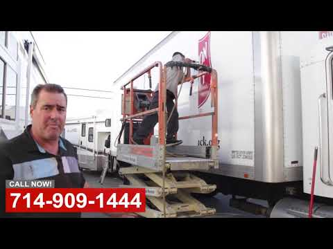 Box Truck Repair in Orange County CA - Видео онлайн