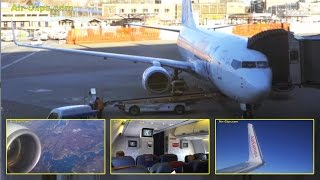 Air Europa Boeing 737-800 Madrid to Palma de Mallorca, great views! [AirClips full flight series]