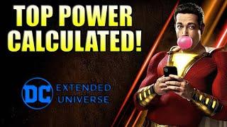 How Powerful is the DCEU Shazam?