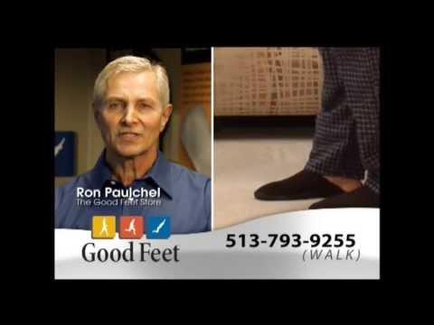Plantar Fasciitis Cincinnati Good Feet arch supports orthotics foot pain relief heel pain