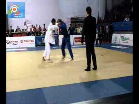 Judo EM 2011 in Istanbul: -60kg PAISCHER Ludwig (AUT) - ALIEV Elnur (EST)