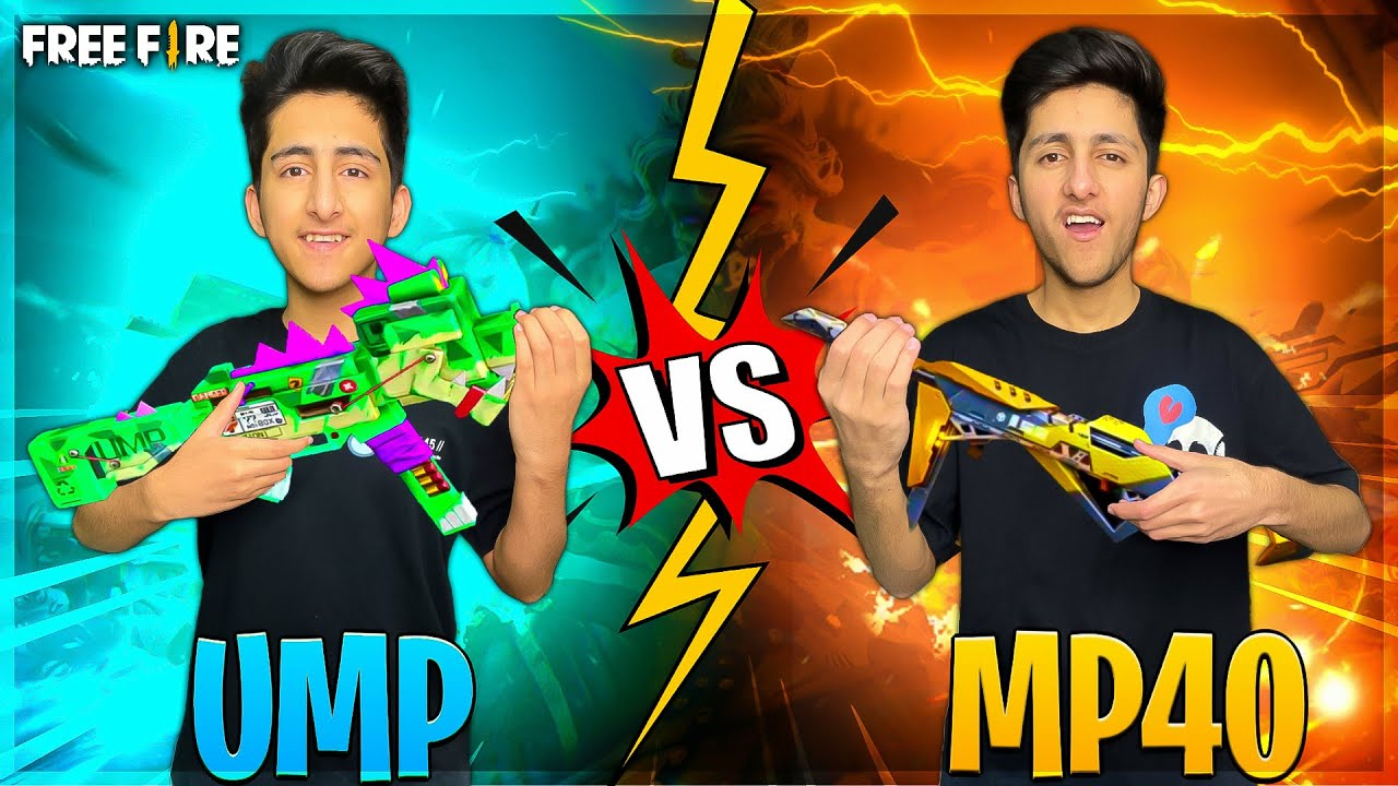 Ump Vs Mp40 Biggest Clash Squad Battle 😂 As Gaming Vs As Rana Funny Match - Garena Free Fire