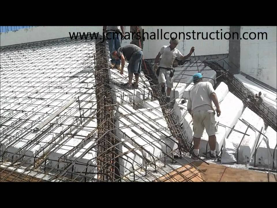 Icf Pitched Roof Wmv Youtube