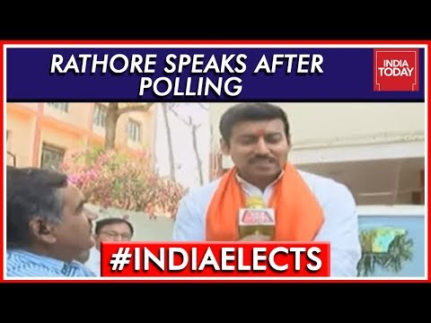 Rajyavardhan Rathore Speaks After Casting Vote In Jaipur | L