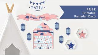 Ramadan Decor Crafts And Activities | Printable Ramadan Crafts | Ramadan DIY Decor