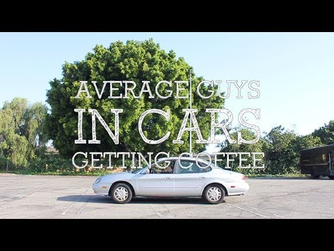 Average Guys In Cars Getting Coffee