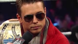 Roman Reigns punch The Miz