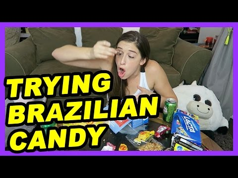 Trying Brazilian Candy!
