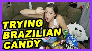 Trying Brazilian Candy!