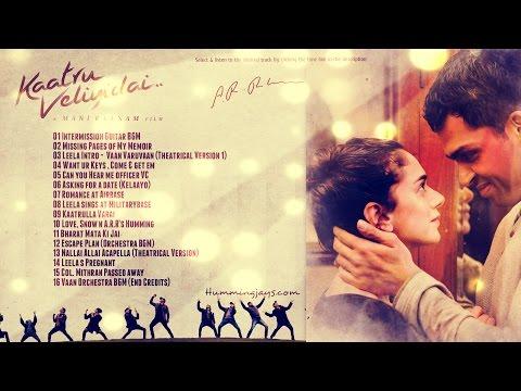 Kaatru Veliyidai BGM's| An A.R.Rahman Musical | Hummingjays
